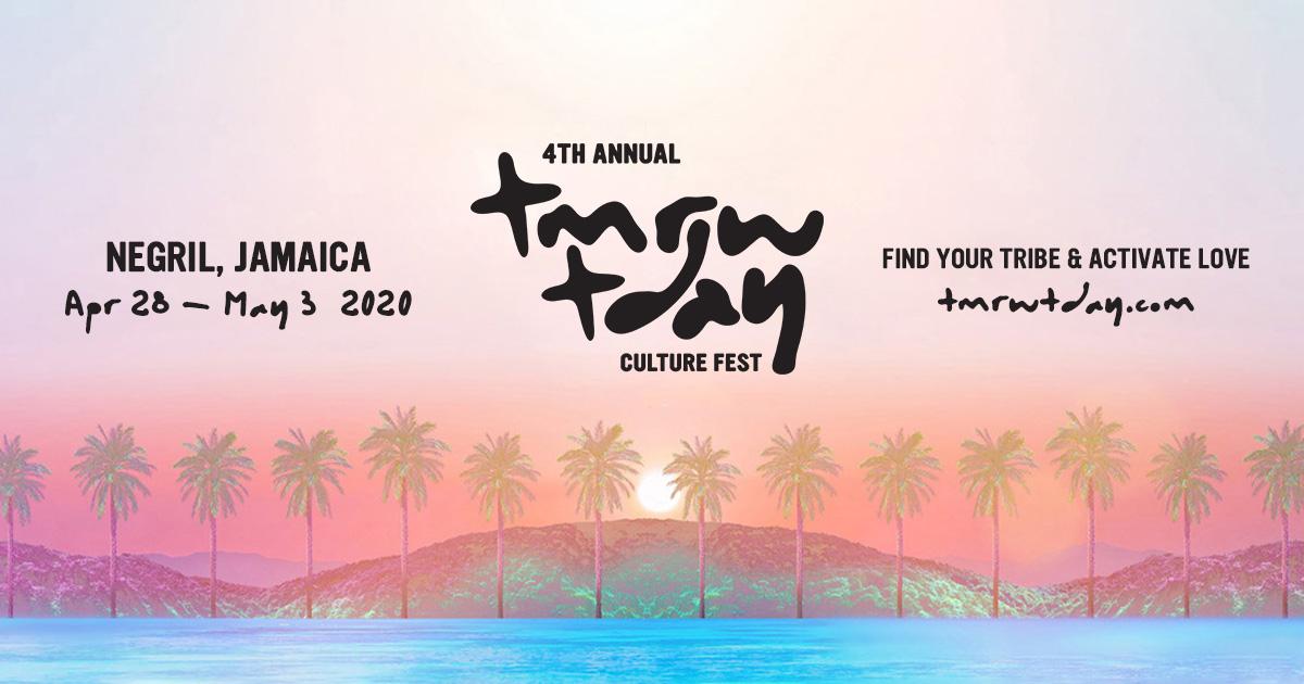 CULTURE - Tmrw Tday Culture Fest | Part Retreat, Part Music